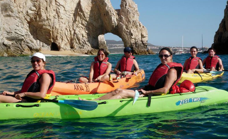 Snorkeling and Kayaking in the Sea of Cortez