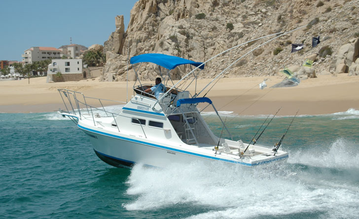 Cabo Sport Fishing on a Private 28'
